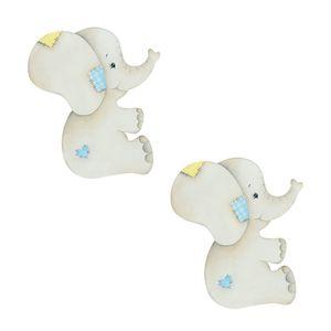 Aplique-Decoupage-Litoarte-APM4-300-em-Papel-e-MDF-4cm-Elefantinhos-Bebes
