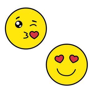 Aplique-Decoupage-Litoarte-APM4-318-em-Papel-e-MDF-4cm-Emoji