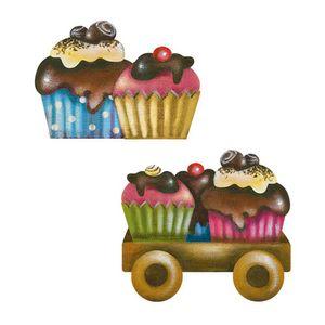 Aplique-Decoupage-Litoarte-APM4-319-em-Papel-e-MDF-4cm-Carrinho-com-Cupcake