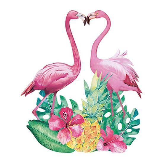 Aplique-Decoupage-Litoarte-APM8-873-em-Papel-e-MDF-8cm-Casal-de-Flamingo