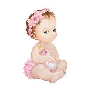 Aplique-Decoupage-Litoarte-APM8-893-em-Papel-e-MDF-8cm-Bebe-Menina-com-Mamadeira