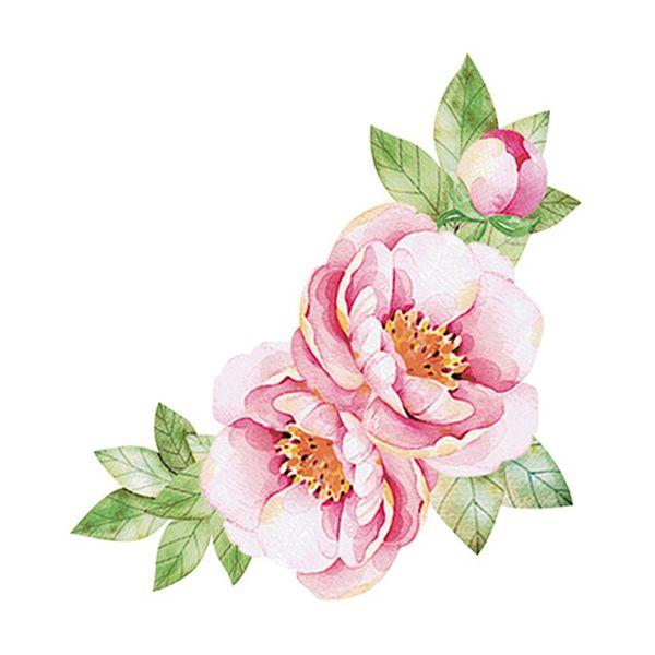 Aplique-Decoupage-Litoarte-APM8-896-em-Papel-e-MDF-8cm-Flores-Rosa