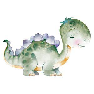 Aplique-Decoupage-Litoarte-APM8-903-em-Papel-e-MDF-8cm-Dinossauro-Verde