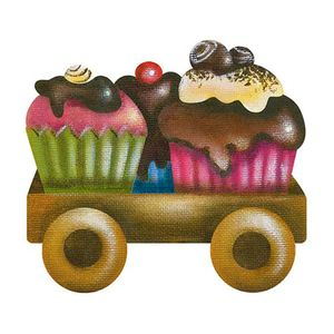 Aplique-Decoupage-Litoarte-APM8-918-em-Papel-e-MDF-8cm-Carrinho-de-Cupcakes