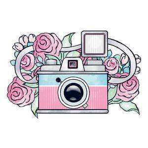Aplique-Decoupage-Litoarte-APM8-922-em-Papel-e-MDF-8cm-Camera-Fotografica
