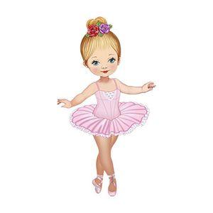 Aplique-Decoupage-Litoarte-APM12-104-em-Papel-e-MDF-12cm-Bailarina-Vestido-Rosa