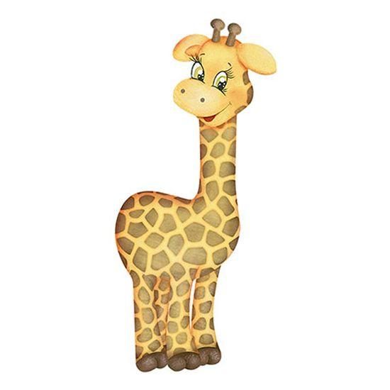 Aplique-Decoupage-Litoarte-APM12-142-em-Papel-e-MDF-12cm-Girafa
