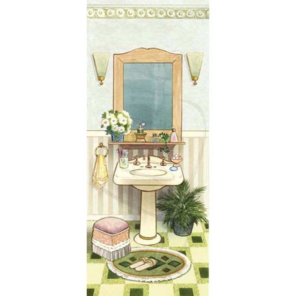 Papel-Decoupage-Arte-Francesa-Litoarte-AFP-012-25x10cm-Banheiro-I