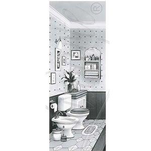 Papel-Decoupage-Arte-Francesa-Litoarte-AFP-062-25x10cm-Banheiro-Preto-e-Branco-I