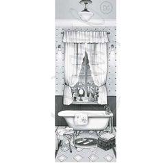Papel-Decoupage-Arte-Francesa-Litoarte-AFP-063-25x10cm-Banheiro-Preto-e-Branco-II