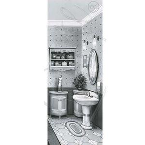 Papel-Decoupage-Arte-Francesa-Litoarte-AFP-064-25x10cm-Banheiro-Preto-e-Branco-III