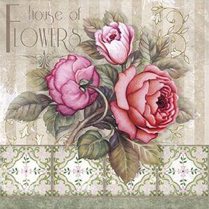 Papel-Decoupage-Arte-Francesa-Litoarte-AFQ-313-21x21cm-House-Of-Flowers-Rosas