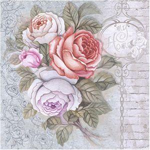 Papel-Decoupage-Arte-Francesa-Litoarte-AFQ-315-21x21cm-Rosas-My-Home