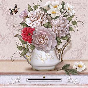 Papel-Decoupage-Arte-Francesa-Litoarte-AFQ-349-21x21cm-Flores-Claras-no-Vaso