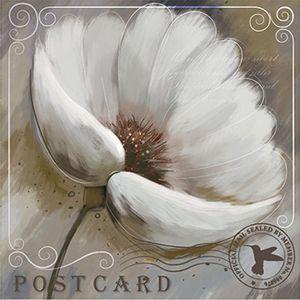 Papel-Decoupage-Arte-Francesa-Litoarte-AFQ-379-21x21cm-Flor-Branca