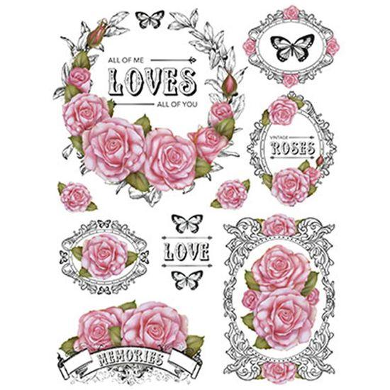 Papel-Transfer-Litoarte-218x284cm-PTG-048-Flores-Rosas