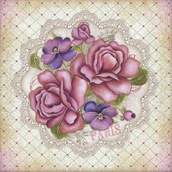 Papel-ScrapDecor-Litoarte-SDSXV1-003-15x15cm-Flores-Vintage-by-Lili-Negrao