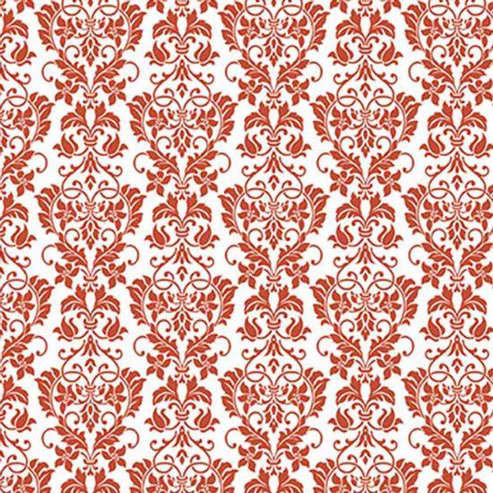 Papel-Scrapbook-Hot-Stamping-Litoarte-SH-026-27x30cm-Floral-Vermelho