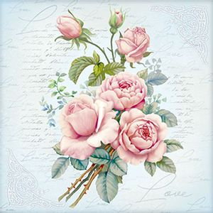 Papel-Decoupage-Adesiva-Litoarte-DA20-100-20x20cm-Flores-Rosas