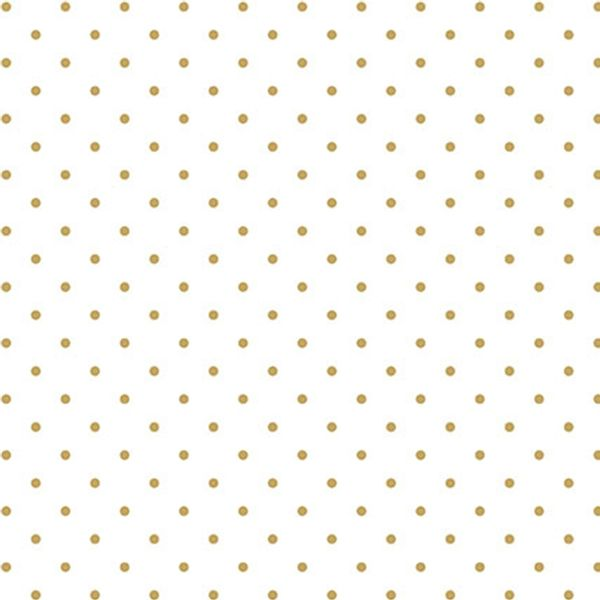 Papel-Scrapbook-Hot-Stamping-Litoarte-SH30-009-30x30cm-Poa-Dourado-Fundo-Branco