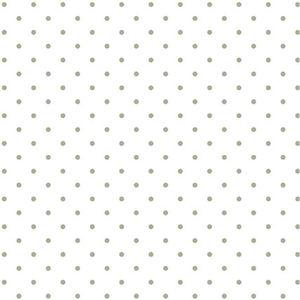 Papel-Scrapbook-Hot-Stamping-Litoarte-SH30-012-30x30cm-Poa-Prata-Fundo-Branco