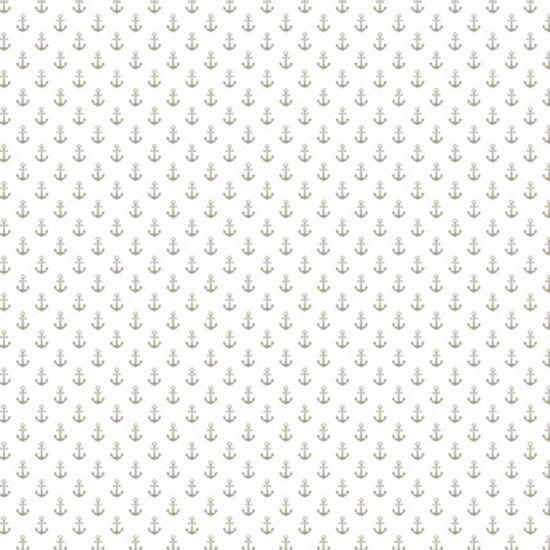 Papel-Scrapbook-Hot-Stamping-Litoarte-SH30-023-30x30cm-Ancoras-Prata-Fundo-Branco