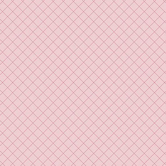 Papel-Scrapbook-Hot-Stamping-Litoarte-SH30-029-30x30cm-Xadrez-Rosa