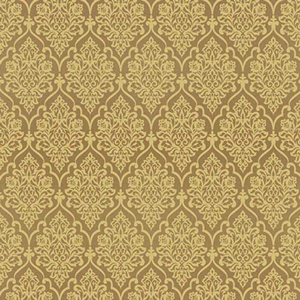 Papel-Scrapbook-Hot-Stamping-Litoarte-SH30-037-30x30cm-Floral-Dourado-Fundo-Marrom