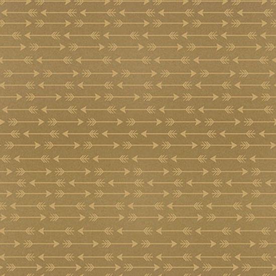 Papel-Scrapbook-Hot-Stamping-Litoarte-SH30-043-30x30cm-Flechas-Dourado-Fundo-Marrom