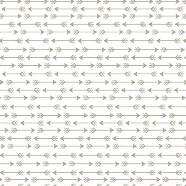 Papel-Scrapbook-Hot-Stamping-Litoarte-SH30-046-30x30cm-Flechas-Prata-Fundo-Branco