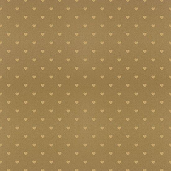 Papel-Scrapbook-Hot-Stamping-Litoarte-SH30-048-30x30cm-Coracoes-Dourado-Fundo-Marrom