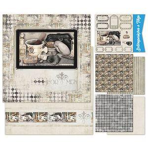 Kit-Papel-Scrap-Decor-Litoarte-KSD-003-305x305cm-6-Folhas-Sortidas-Barber-Shop
