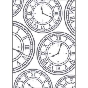 Placa-para-Relevo-2D-Elegance-Toke-e-Crie-PPR013-127x177cm-Relogio-Vintage-I