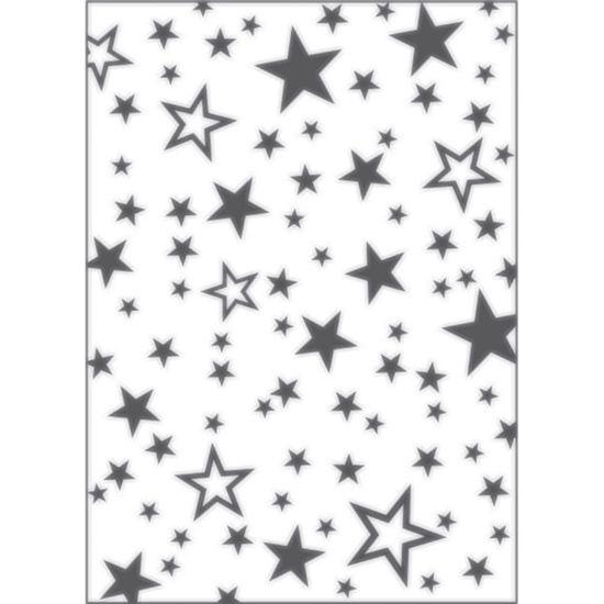Placa-para-Relevo-2D-Elegance-Toke-e-Crie-PPR015-127x177cm-Estrelas