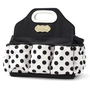 Bolsa-para-Scrap-Pequena-WER078-34x33x14cm-Vicki-Boutin-Crafters-Tote-Poa-Preto
