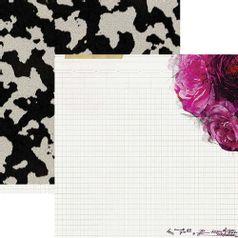 Papel-Scrapbook-WER154-305x305cm-Hawthorne-Floral-Heidi-Swapp