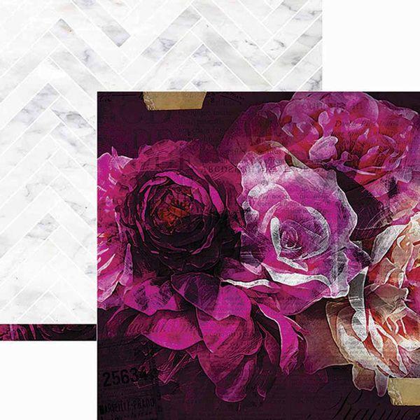 Papel-Scrapbook-WER162-305x305cm-Hawthorne-Florescer-Heidi-Swapp