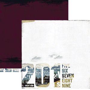 Papel-Scrapbook-WER157-305x305cm-Hawthorne-Manuscrito-Heidi-Swapp