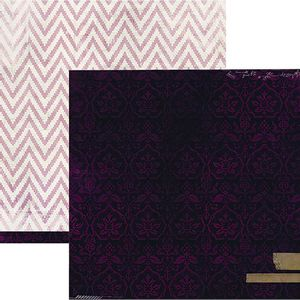 Papel-Scrapbook-WER155-305x305cm-Hawthorne-Veludo-Heidi-Swapp