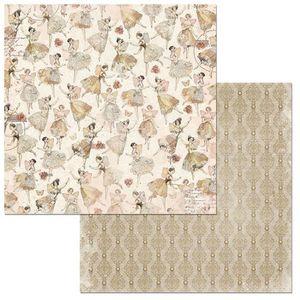 Papel-Scrapbook-WER119-305x305cm-Charmed-Danca-Bo-Bunny