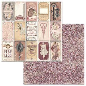 Papel-Scrapbook-WER123-305x305cm-Charmed-Espelho-Bo-Bunny
