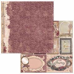 Papel-Scrapbook-WER126-305x305cm-Charmed-Petalas-Bo-Bunny