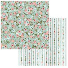 Papel-Scrapbook-WER092-305x305cm-Early-Bird-Estampas-Bo-Bunny