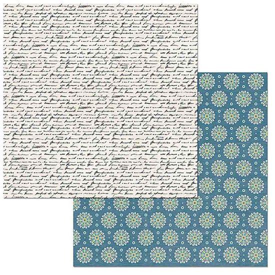 Papel-Scrapbook-WER098-305x305cm-Early-Bird-Notas-Bo-Bunny