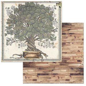 Papel-Scrapbook-WER107-305x305cm-Lifetime-Arvore-Genealogica-Bo-Bunny