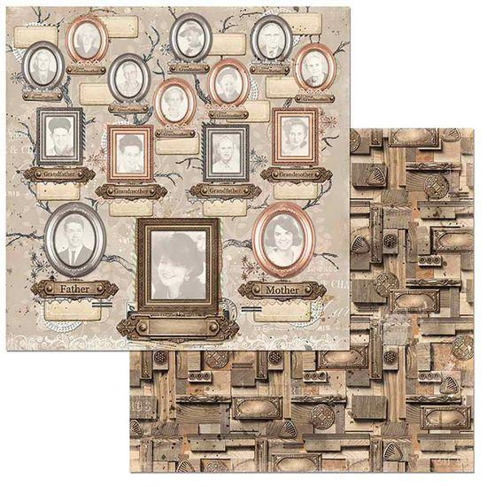 Papel-Scrapbook-WER113-305x305cm-Lifetime-Lembrancas-Bo-Bunny