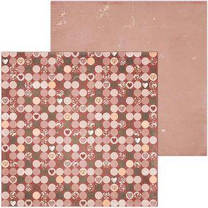 Papel-Scrapbook-WER084-305x305cm-Only-You-Felicidade-Bo-Bunny