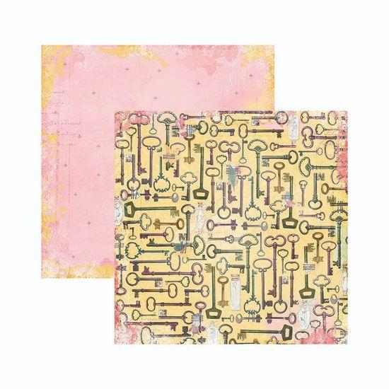 Papel-Scrapbook-WER128-305x305cm-Sunshine-Bliss-Alegria-Bo-Bunny