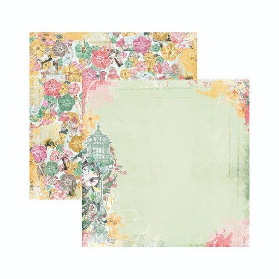 Papel-Scrapbook-WER138-305x305cm-Sunshine-Bliss-Animado-Bo-Bunny