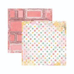 Papel-Scrapbook-WER136-305x305cm-Sunshine-Bliss-Paz-Bo-Bunny